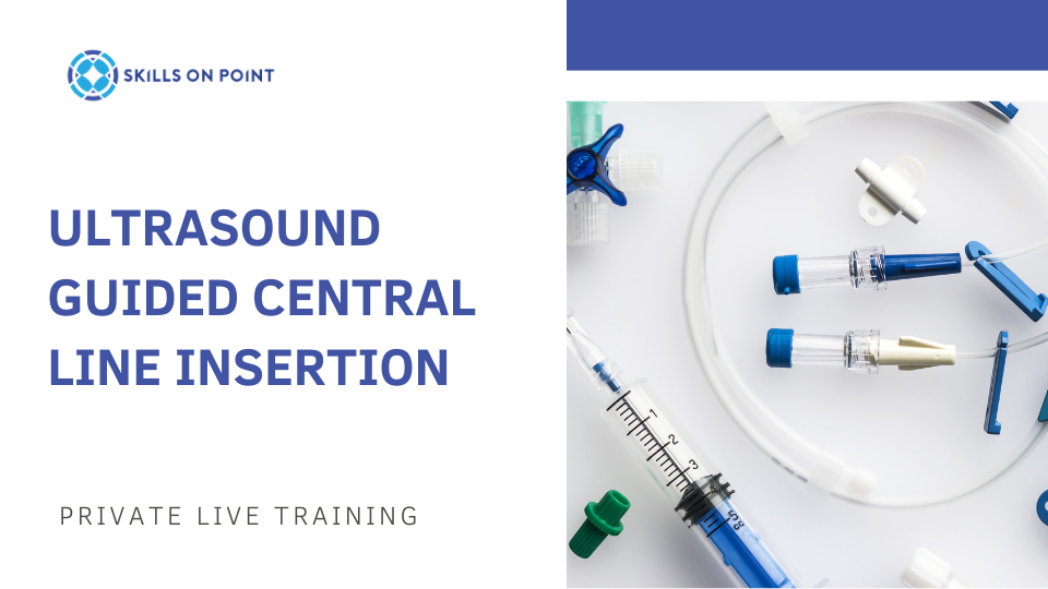 ultrasound guided central line insertion - continuing education courses