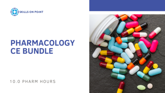 pharmacology ce bundle - skills on point rockford il