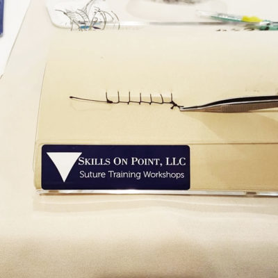 suture training workshop - skills on point