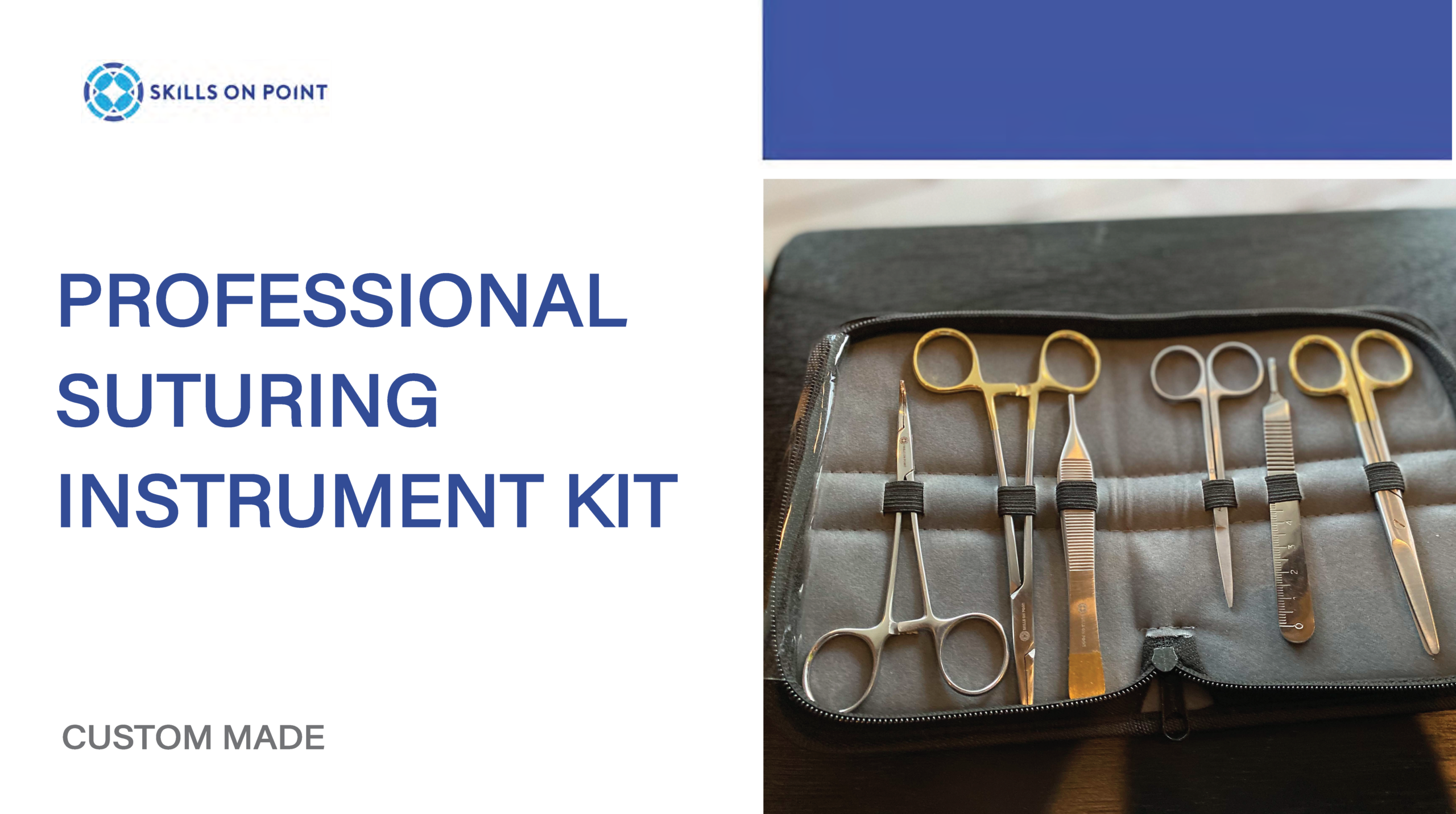 professional suturing instrument kit